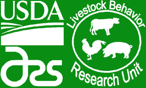 Logo USDA Agricultural Research Service, Livestock Behavior Research
